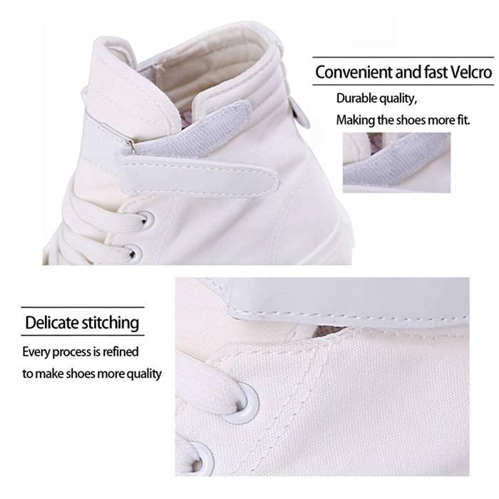 Cartoon Michael Dance Cute Mouse Shoes Anime Logo hightop Canvas Shoes Sneakers