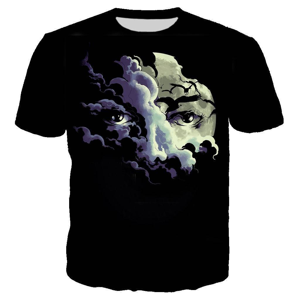 Michael Jackson 3D Printed T-shirt Unisex Summer Fashion Casual Streetwear Hip Hop Short Sleeve Harajuku Oversized Tops